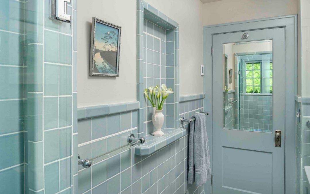 David Heide Design Studio Reimagines a Bathroom of Yesteryear