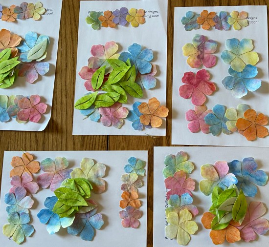 Watercolor Blossoms Scatterings Kit