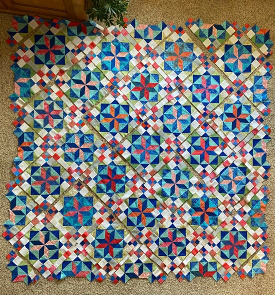 """Frolic"" Mystery Quilt by Bonnie Hunter"