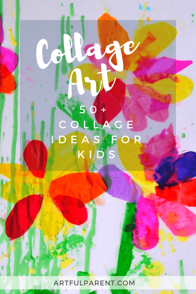 Collage Art Ideas For Kids 50 Fun Collage Activities