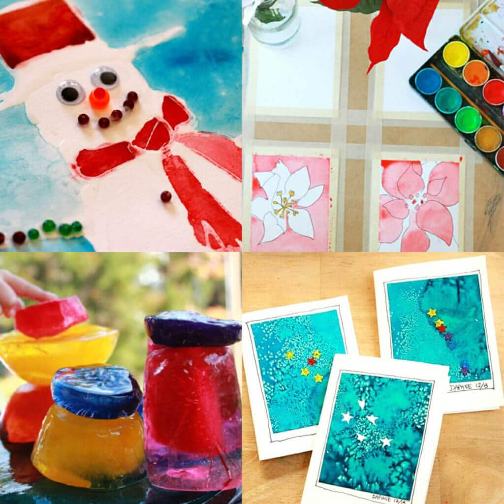 13 Winter Art Projects For Kids