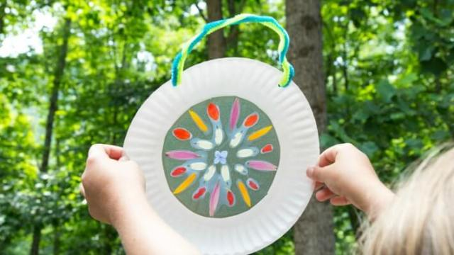 Nature Suncatchers from the KIDS ART SPOT