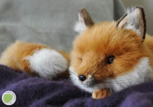 Stuffed fox from Imagine Childhood