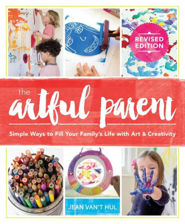 Cover of The Artful Parent Book, Revised Edition, by Jean Van't Hul