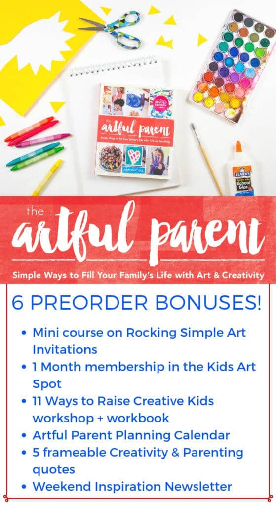 The completely revised & updated edition of The Artful Parent book by Jean Van't Hul is being released June 11th! Preorder now to receive 6 awesome bonuses!