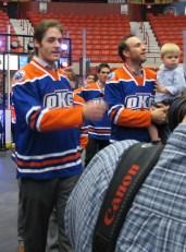 Alex Plante and Josh Green