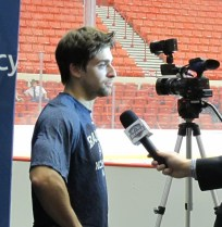 Mark Arcobello - OKC Barons Training Camp, Oct. 1, 2012.
