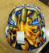 Bachman mask top back (Photo: Patricia Teter. All Rights Reserved.)