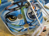 Tyler Bunz Mask right side detail (Photo Patricia Teter, All Rights Reserved)