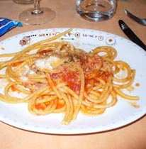 Trattoria Armando al Pantheon - bucatini all'amatriciana