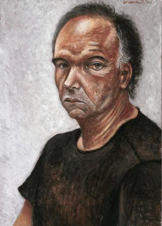 Portrait of a Man by Kezerashvili