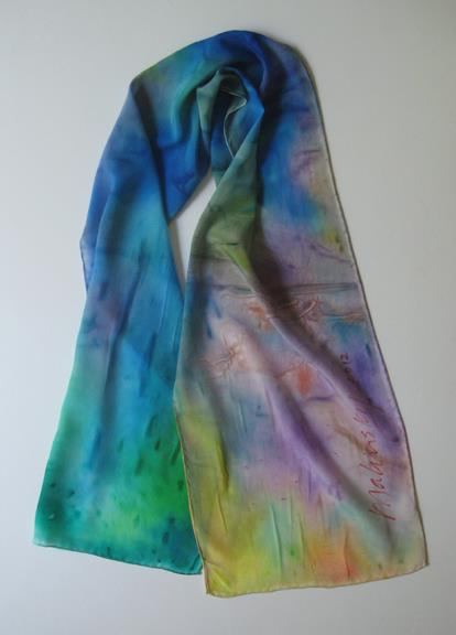 Malinsky Signature Scarf #19 by Richard Malinsky. Copyright © Richard Malinsky