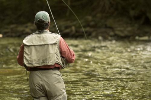 Adriano Manocchia Fishing. Copyright Artful Vagabond Productions