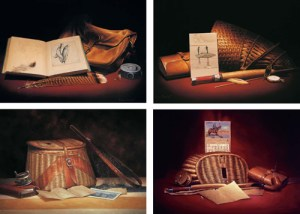 Sporting Still Life Note Cards