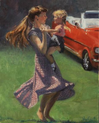 Dancing at the Sock Hop by Abigail VanCannon