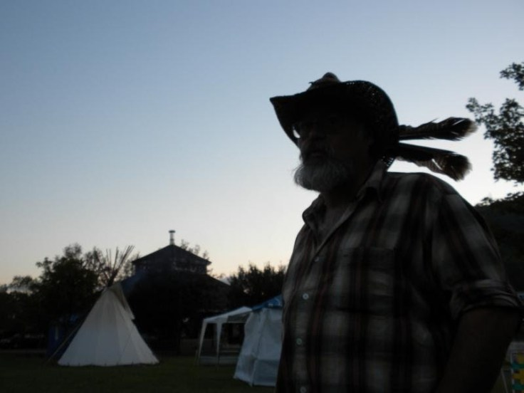 Rick Hunt, Firekeeper - Copyright Artful Vagabond Productions