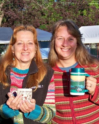 Serena Kovalosky and Carolyn Hunt