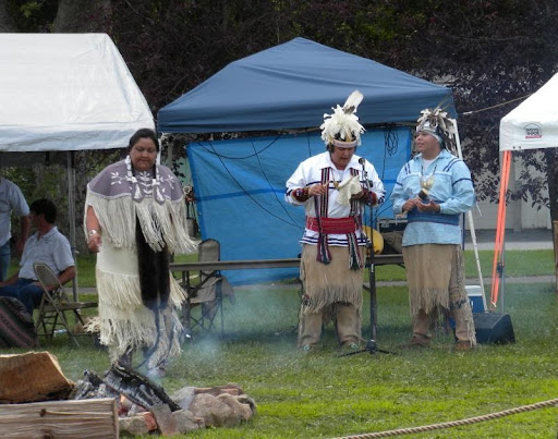 Dancers at Whitehall Pow Wow