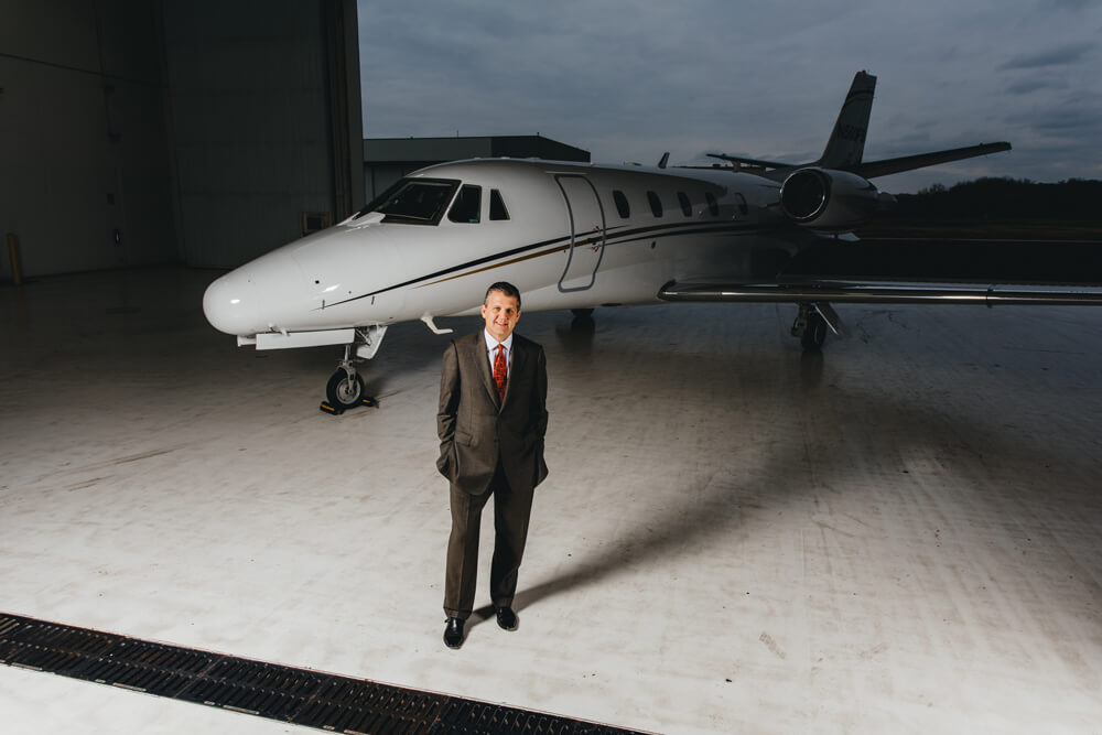 nick fancher private jet solutions minnesota