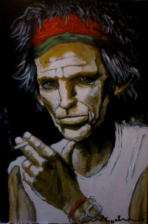 Keith Richards (18) 40 x 60 2015