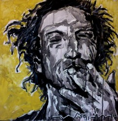 Keith Richards (2) 40 x 40 2015