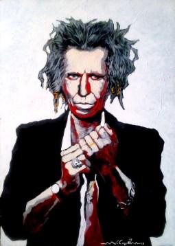 Keith Richards (23) 50 x 70 2015