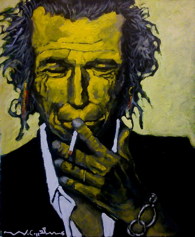 Keith Richards (29) 38 x 46 2015