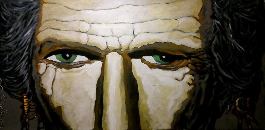 Keith Richards (34) 100 x 50 2015
