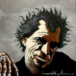 Keith Richards (6) 40 x 40 2015