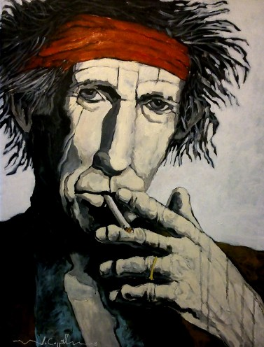 Keith Richards (7) 100 x 81 2015