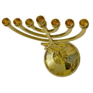 Gold plated Menorah