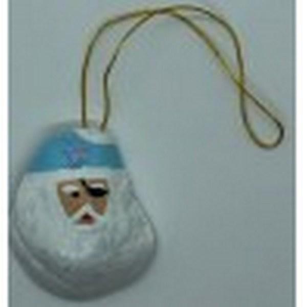 Oyster Santa Ornament