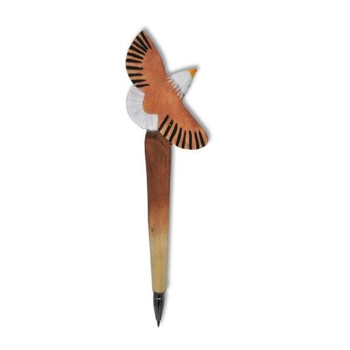 Wooden Pen Bird
