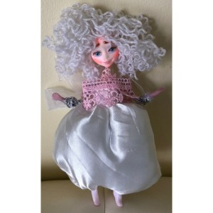 Collectible Doll – White Dress