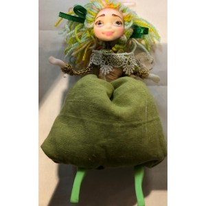 Collectible Doll – Green Dress