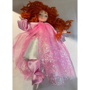 Collectible Doll – Rose Dress