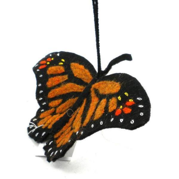 Felt Monarch Butterfly