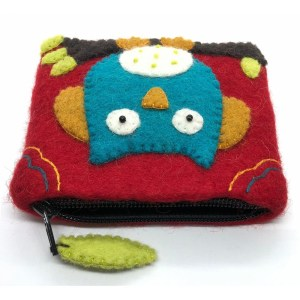 Felt Coin Purse – Owl