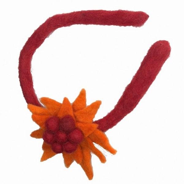 Felt Headband - Water Lily