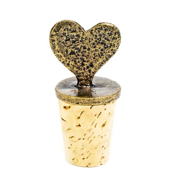 Heart Cork Stopper