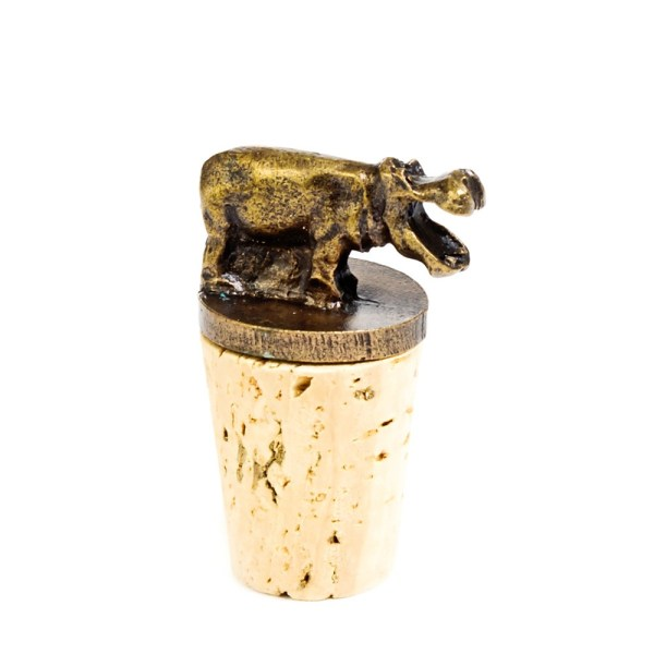 Hippo Cork Stopper
