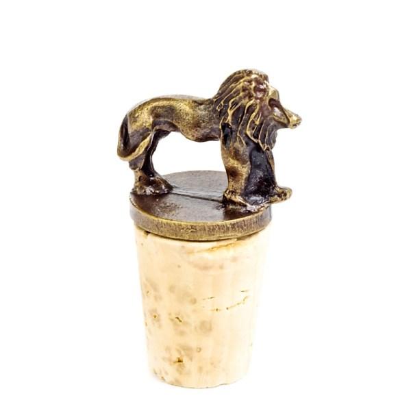 Lion Cork Stopper