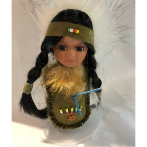 Green Moccasin Doll