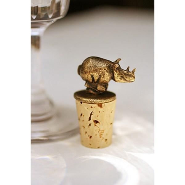 Rhino Cork Stopper
