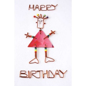 Happy Birthday Card – A Girl
