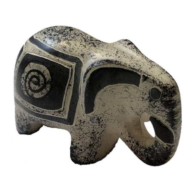 Soapstone Elephants
