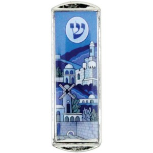 "Car Mezuzah – ""Jerusalem view"""