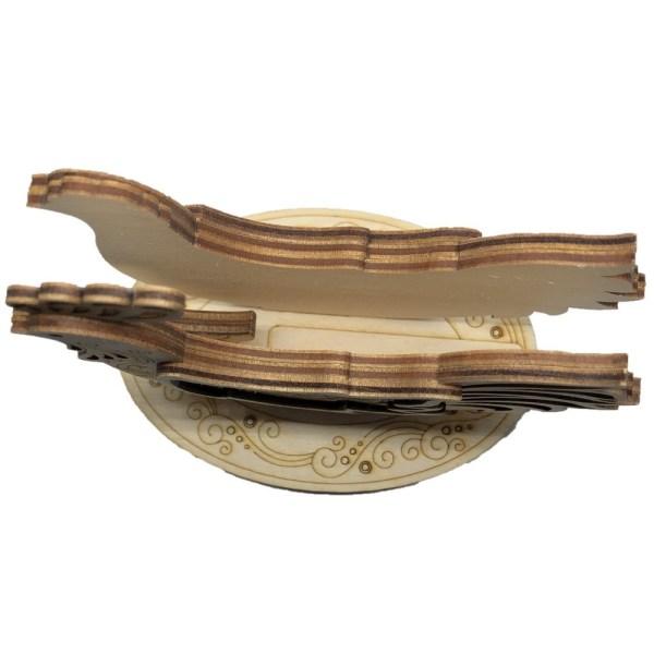 Birch Wood Napkin Holder