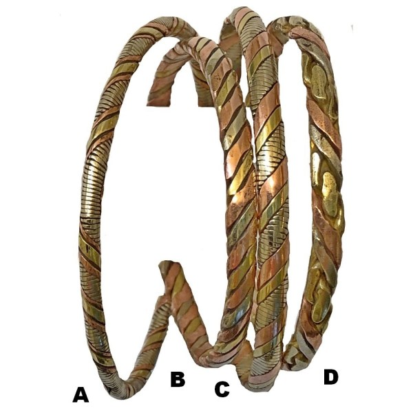 Copper Therapeutic Twisted Bracelet