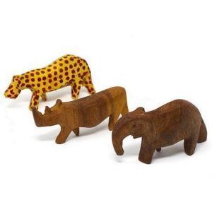 Wooden Animal Figurines